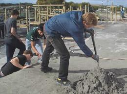 Campi di lavoro: costruzioni in Sudafrica