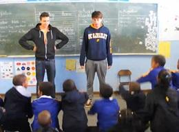 Missioni umanitarie e volontariato sportivo in Sudafrica