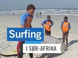 Surfing i Sør-Afrika