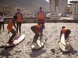 Surf project in Zuid Afrika