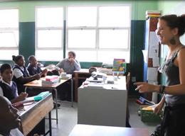 Teaching English on a Volunteer Project in South Africa