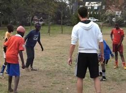 A Volunteer on the Sports Project in Tanzania