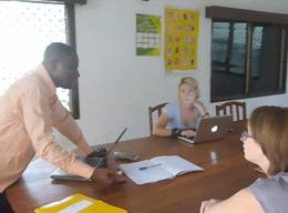 Volunteering on a Human Rights Project in Togo