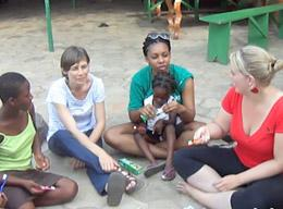 A Volunteer on a Speech Therapy Project in Togo