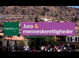 Jura og menneskerettigheder