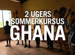 GHANA: Ungdomsprojekt - Humanitært arbejde