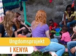KENYA: Ungdomsprojekt - Humanitært arbejde