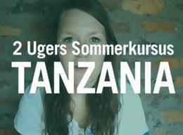 TANZANIA: Ungdomsprojekt - Humanitært arbejde