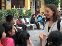 Teaching English on a Volunteer Project in Vietnam