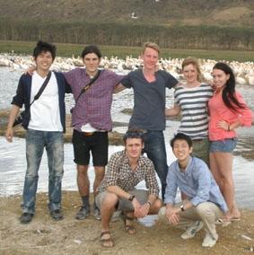 Die ersten 7 Freiwilligen in Nakuru