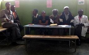 Äthiopien-Unterrichten-Lehrerzimmer