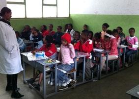 Äthiopien-Unterrichten-Unterricht
