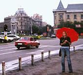 Alina in Bukarest