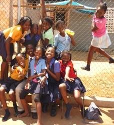 Sport Praktikum Jamaika Mädchen