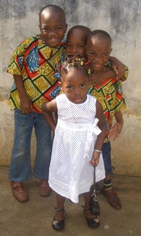 Togo, Unterrichten Gastfamilie