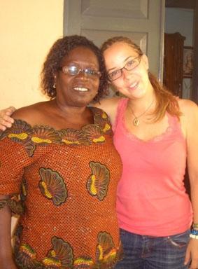 Togo, Unterrichten Gastmutter