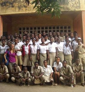 Togo, Unterrichten klasse