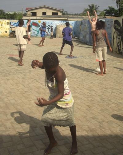 Sozialarbeit Ghana Spielen
