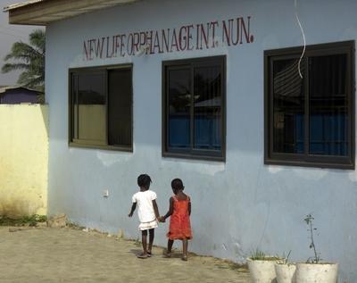 Sozialarbeit Ghana Waisenhaus
