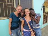 Ghana-Sozialarbeit-Freundschaft