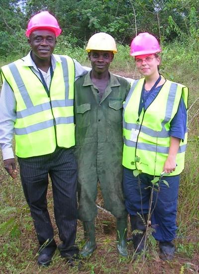 Ghana Naturschutz Kollegen