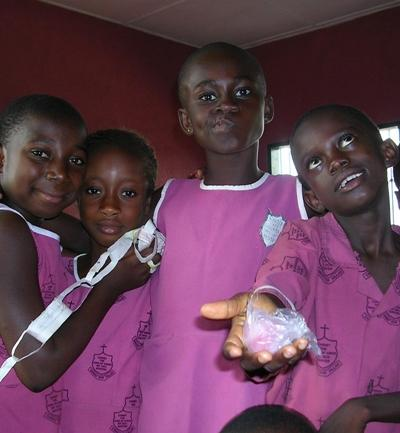 Ghana Naturschutz Schulkinder