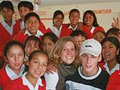 Peru, Freiwillig, Teaching Annika