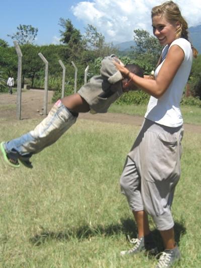 Sozialarbeit Tansania Kind