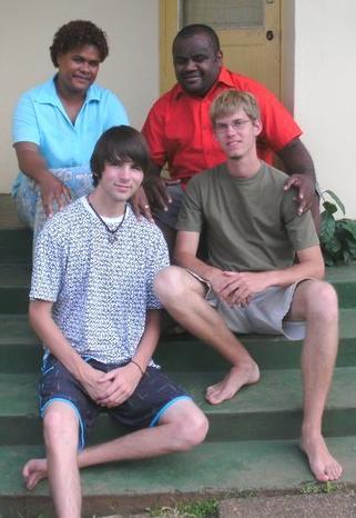 Fidschi-unterrichten-familie