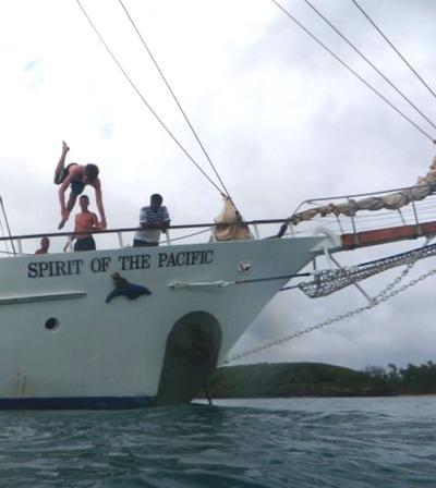 Fidschi unterrichten-segeln