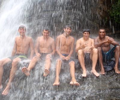 Fidschi unterrichten-wasserfall