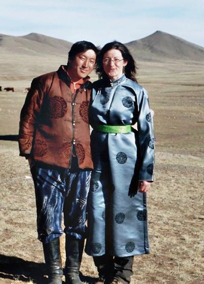 Mongolei Nomaden - Projekt Bruder