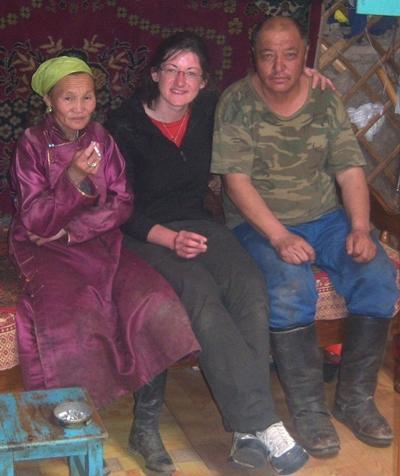 Mongolei Nomaden - Projekt Familie