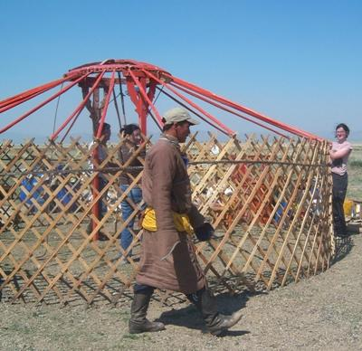 Mongolei Nomaden - Projekt Jurte
