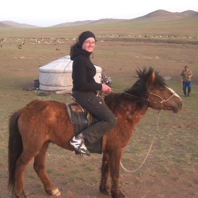 Mongolei Nomaden - Projekt Pferd