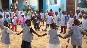 Senegal, Sozialarbeit, Kindergarten