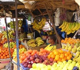 Senegal, Sozialarbeit, Markt