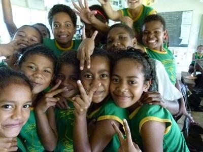 Unterrichts-Projekt Fidschi, Projects Abroad