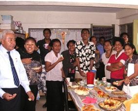 Fidschi-Unterrichten-Lehrer