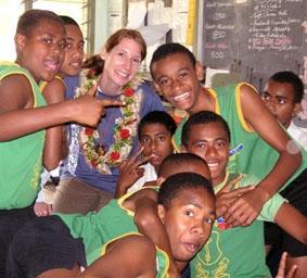 Fidschi-Unterrichten-Schule