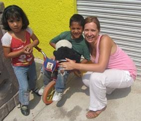 Mexiko-Sozialarbeit-Kinder