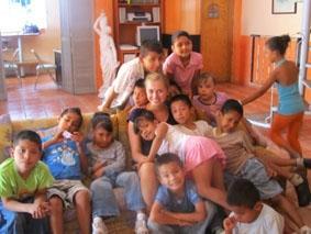 Mexiko-Sozialarbeit-Waisenhaus