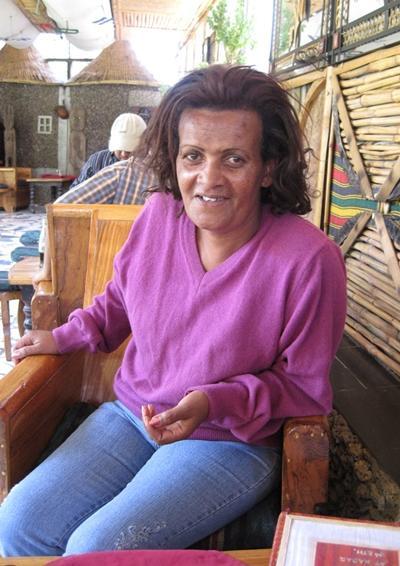 Äthiopien, Unterrichten, Gastmutter