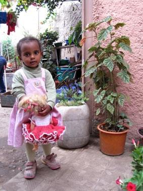 Äthiopien, Unterrichten, Kind