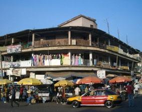 Innenstadt von Kumasi