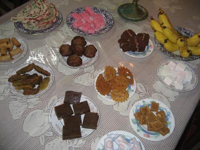 Köstlichkeiten zum Neujahrsfest