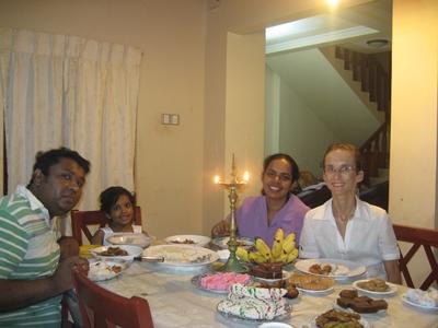 Meine Gastfamilie und ich