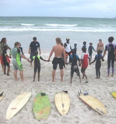Sport Praktikum Südafrika Circle