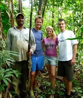 Fidschi-Unterrichten-Dschungel