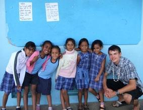 Fidschi-Unterrichten-Freiwilliger